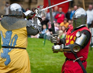 Clash of the Knights at Bolsover Castle!