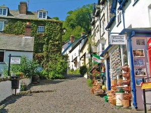 Cobbled streets of Clovelly