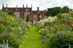 Subtly beautiful gardens at Helmingham Hall
