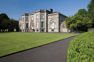 Abbot Hall Art Gallery in the sunshine