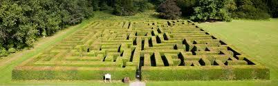 Traquaire maze