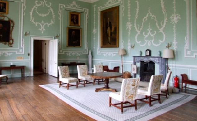 Hartlebury Castle, the saloon
